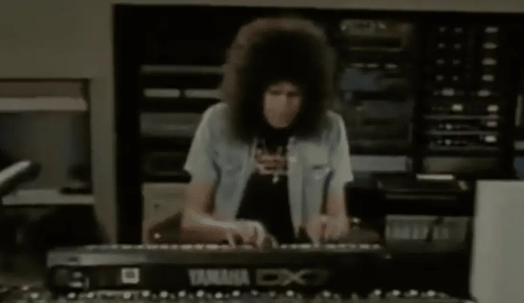 Brian May on Yamaha DX7