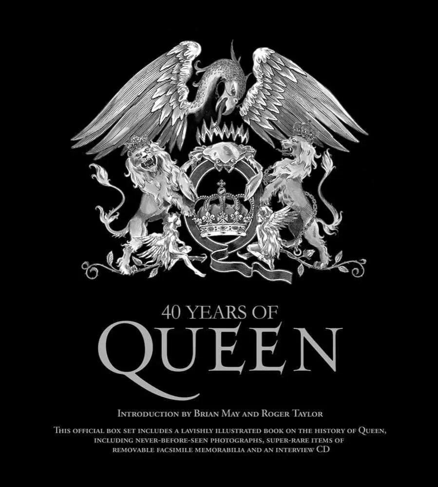 40 years of queen Book