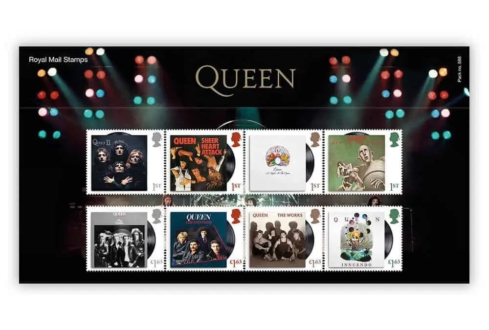 Royal Mail Issue New Special Stamps To Honour Queen