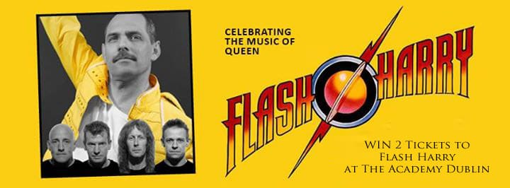 Win tickets to Flash Harry at The Academy Dublin
