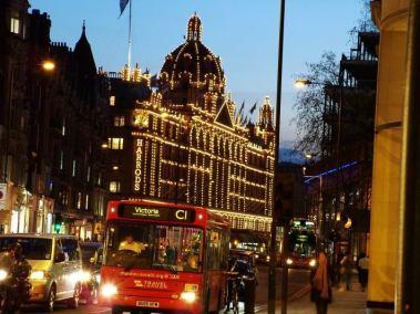 Harrods in Knightsbridge, London, United Kingdom