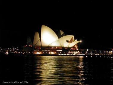 Opera House by Night, Sydney, Australia No matter how many times you photograph the Sydney Opera House, you always find a reason for taking one more photo
