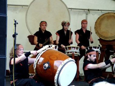 Japanese Taiko Drumming, Waterford, Ireland