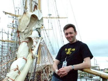 Me On-Board the Tall Ships back in 2005