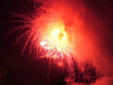 Tall Ships Fireworks - Start, Waterford, Ireland