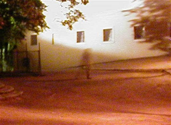 Photo of a Ghost at Prague Castle taken in 2001