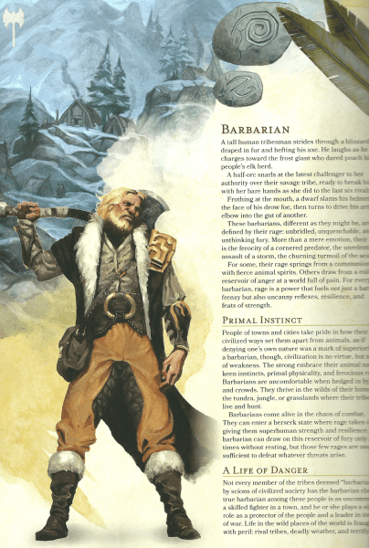 Dungeons  Dragons 5th Edition Players Handbook first look