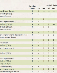 Why clerics still suck rule of the dice also cleric spell slots  blackjack or brown turkey fig rh projectormynuf