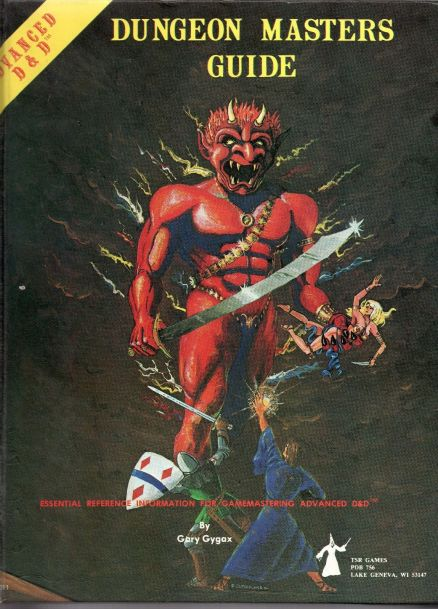 AD&D Dungeon Masters Guide 1st Edition