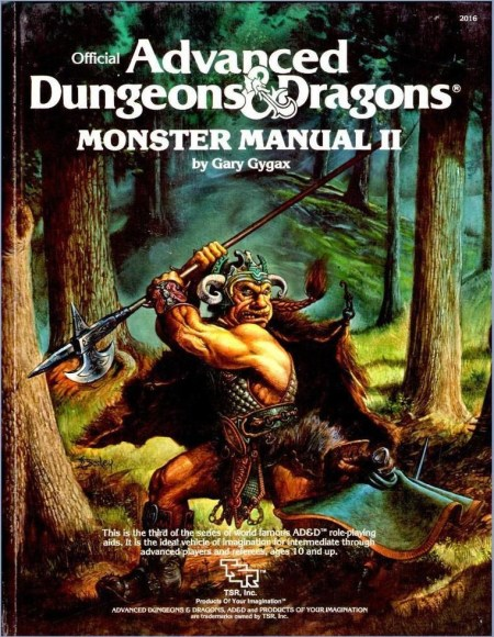 AD&D Monster Manual II 1st Edition
