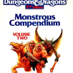 AD&D 2nd Edition Monstrous Compendium Volume 2