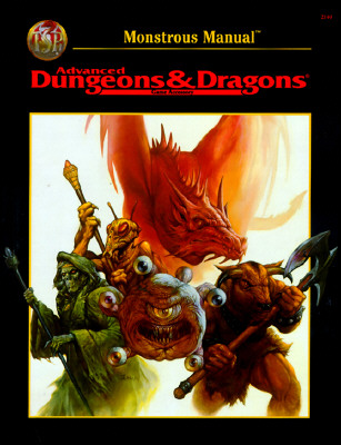 AD&D 2nd Edition Monstrous Manual Revised