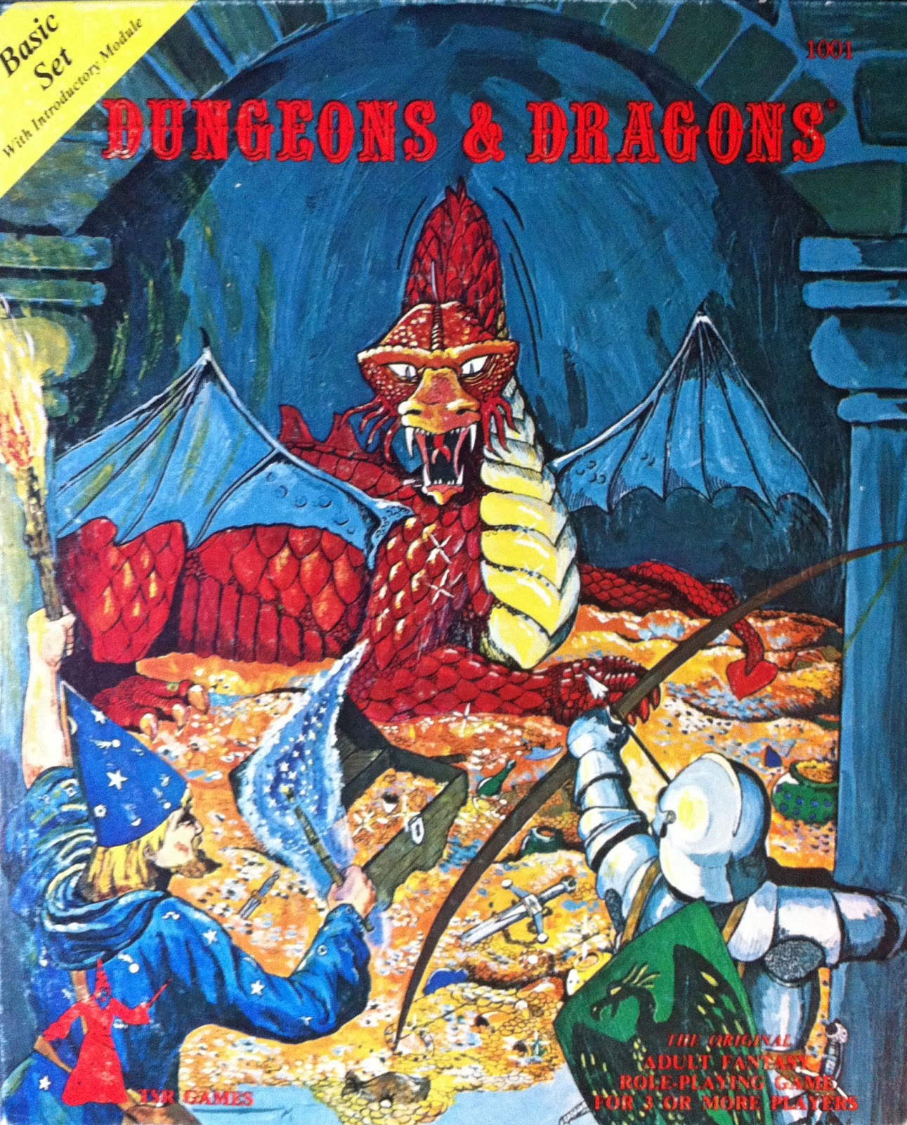 Through the Ages: Dungeons & Dragons Cover Art - SHANE PLAYS