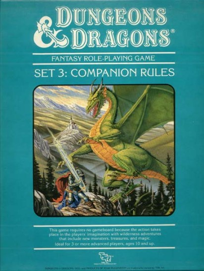 D&D Companion Set Box