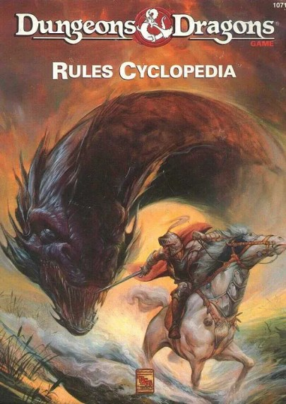D&D Rules Cyclopedia