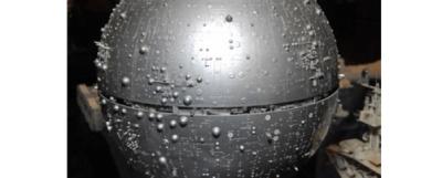 Death Star Prototype Model horizontal