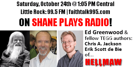 Shane Plays Ed Greenwood guest promo banner