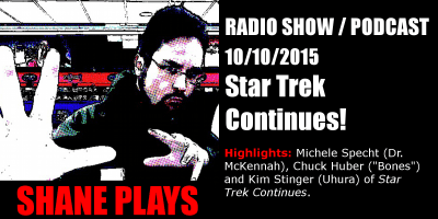 shane plays podcast title 10-10-2015
