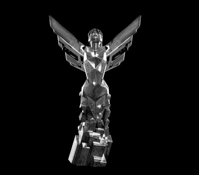 The Game Awards 2015 statue designed by WETA
