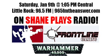 Shane Plays Frontline Gaming Guest Promo Banner version 2 Jan 9 2016