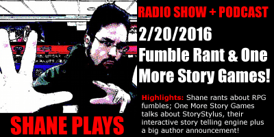 shane plays podcast title 2-20-2016