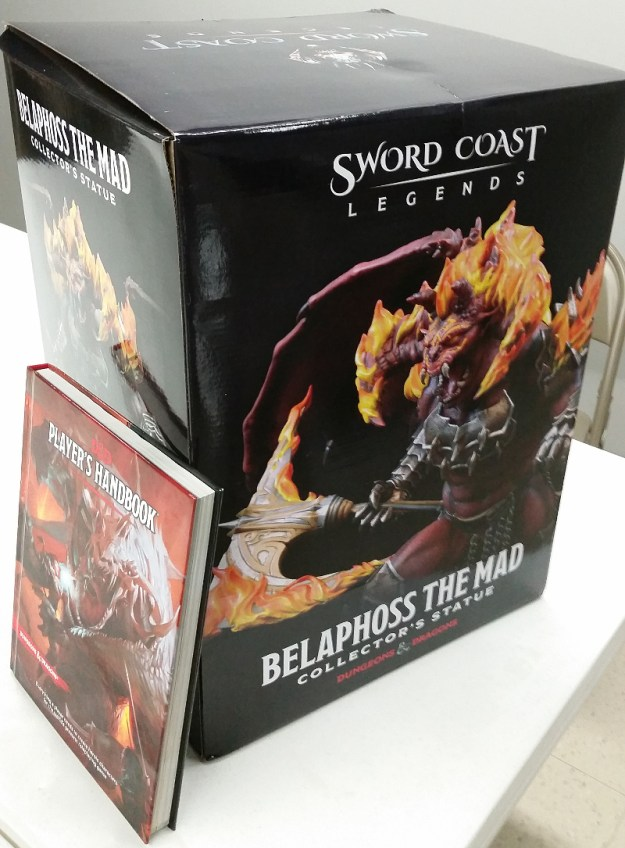 Sword Coast Legends Belaphoss Statue 9