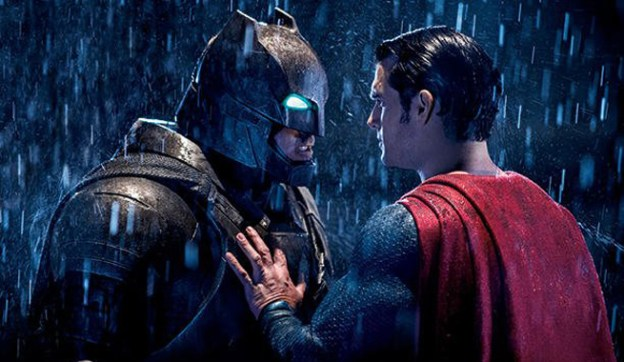 Batman V Superman Dawn of Justice Superman and Batman stare down