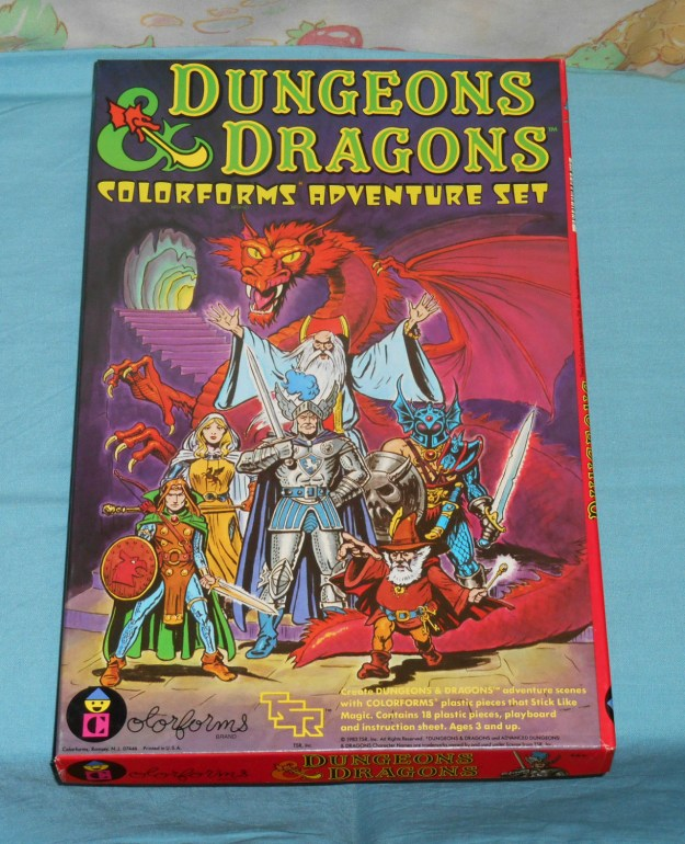 d&d colorforms