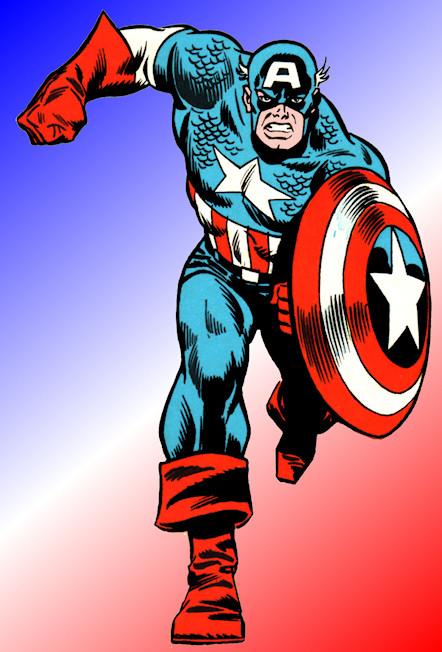 captain america running