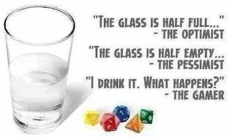 d&d meme optimist pessimist gamer