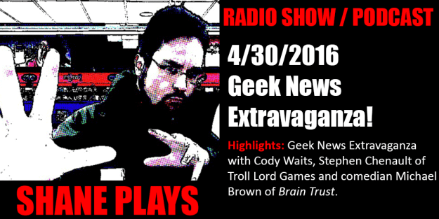 shane plays podcast title 4-30-2016