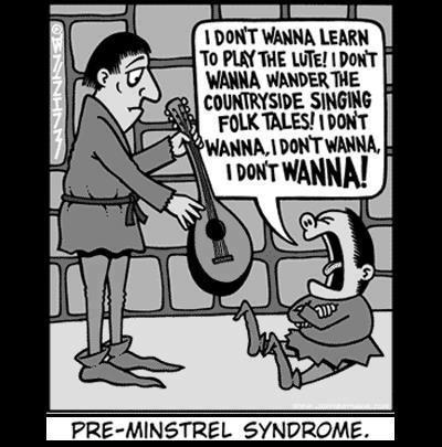 d&d meme pre minstrel syndrome