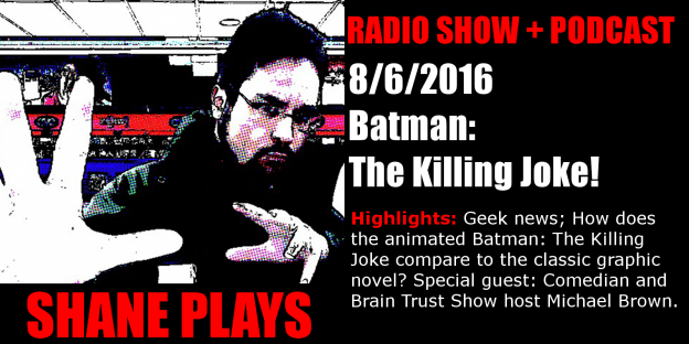 shane plays podcast title 8-6-2016