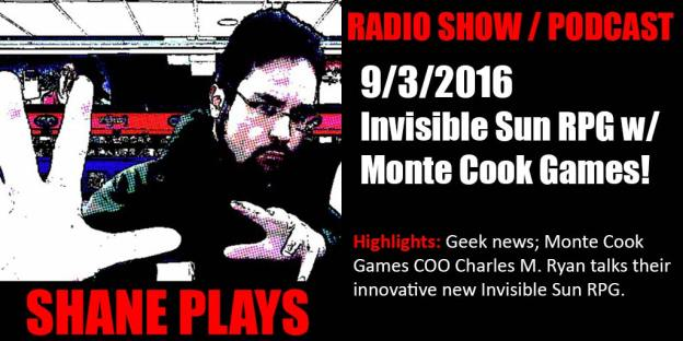 shane plays podcast title 9-3-2016