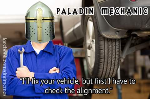 d&d meme vehicle paladin alignment check