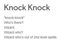 d&d meme knock knock joke