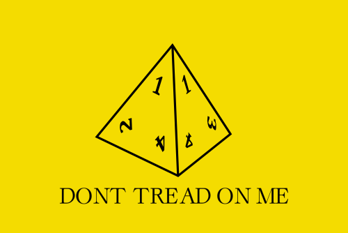 d&d meme don't tread on me
