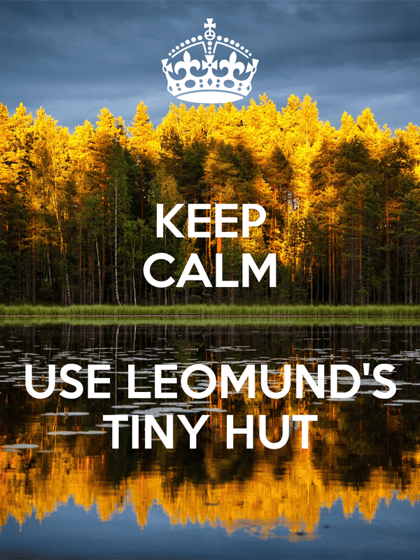 d&d meme keep calm cast leomunds tiny hut