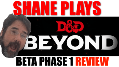 D&D Beyond Beta Phase 1 Review