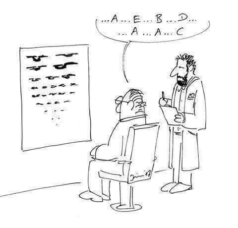 geek meme starfleet eye chart