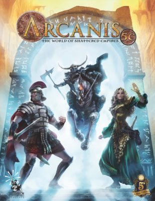 arcanis the world of shattered empires
