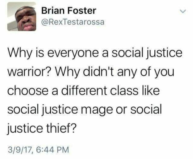 d&d meme social justice warrior