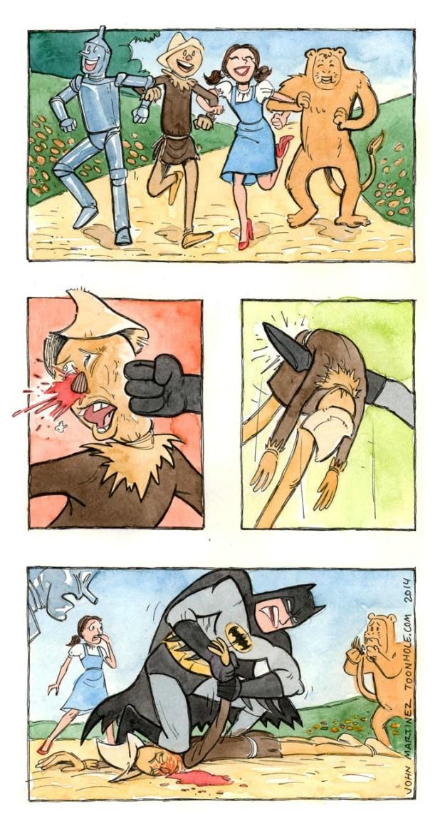 geeke meme batman wrong scarecrow