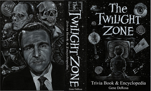 the twilight zone trivia book and encyclopedia book cover
