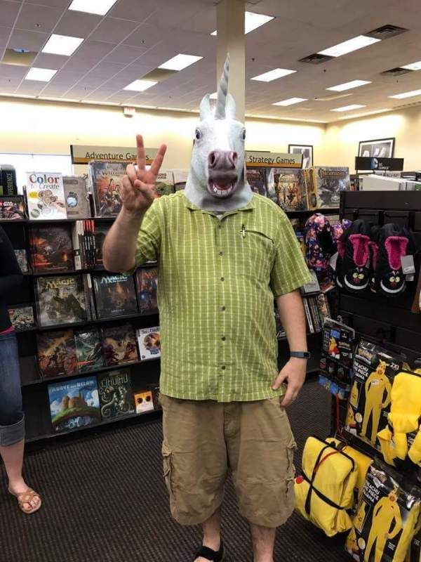 Shane unicorn head