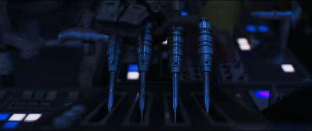 star wars solo trailer millennium falcon cockpit hyperdrive levers