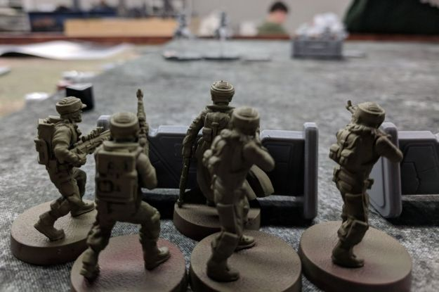 star wars legion rebel troopers close up