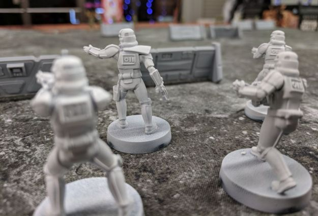 star wars legion stormtrooper close up