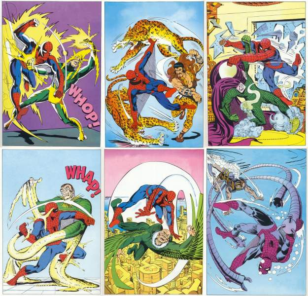 steve ditko sinister six amazing spider man annual 1