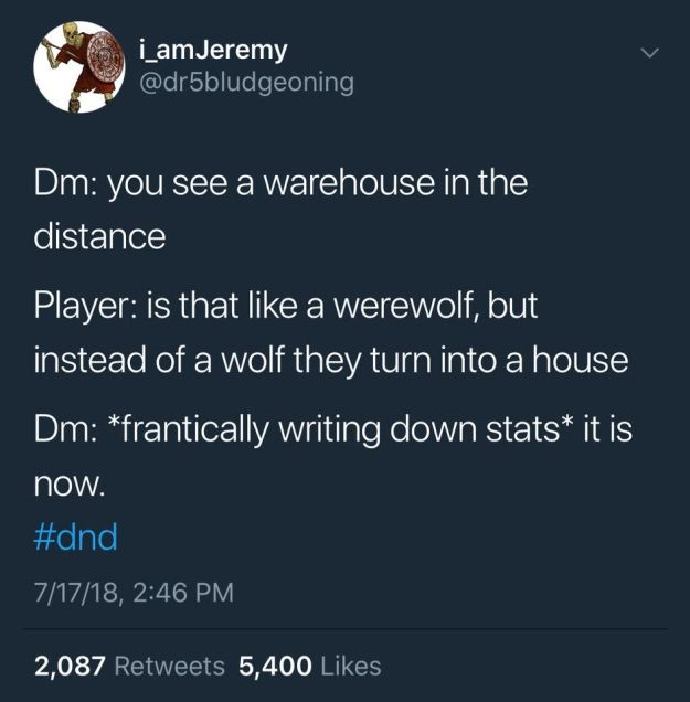 d&d meme warehouse